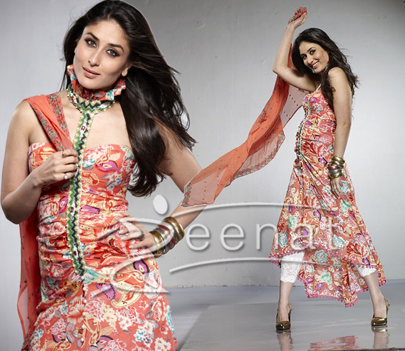Kareena In Designer Neck Pattern