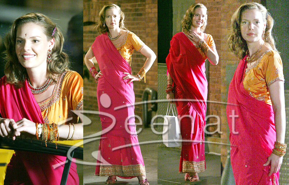 Katherine Heigl Goes Desi In Saree