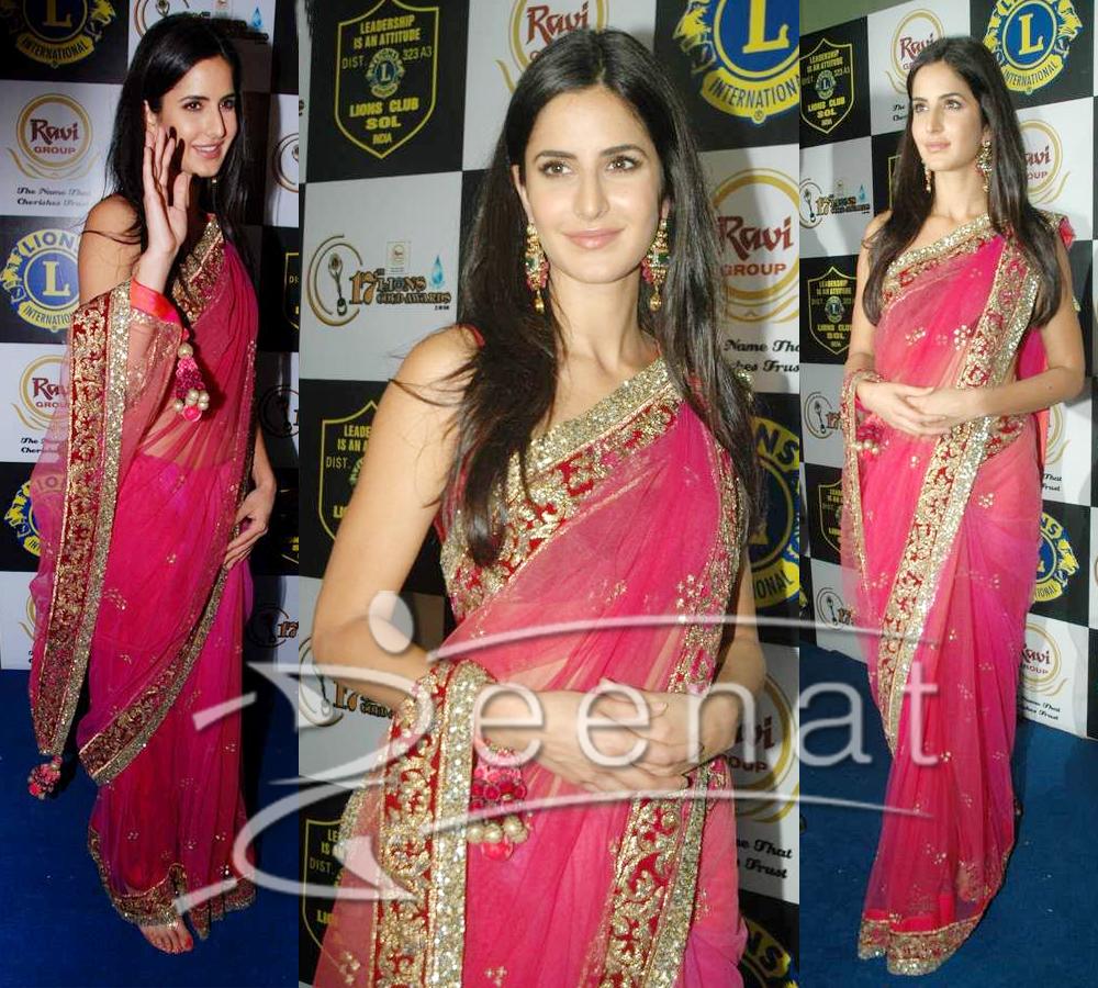 Katrina Indian Net Saree