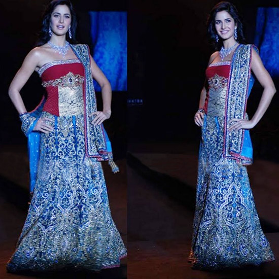 Katrina In Glamourous Bridal Wear