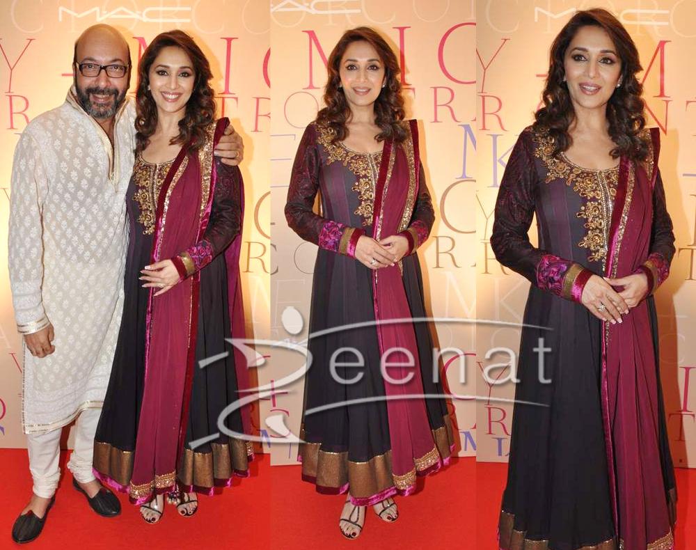 Madhuri Anarkali Churidar Styles
