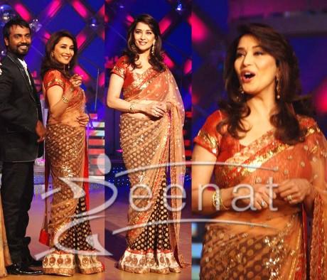 Designer Net Saree Style