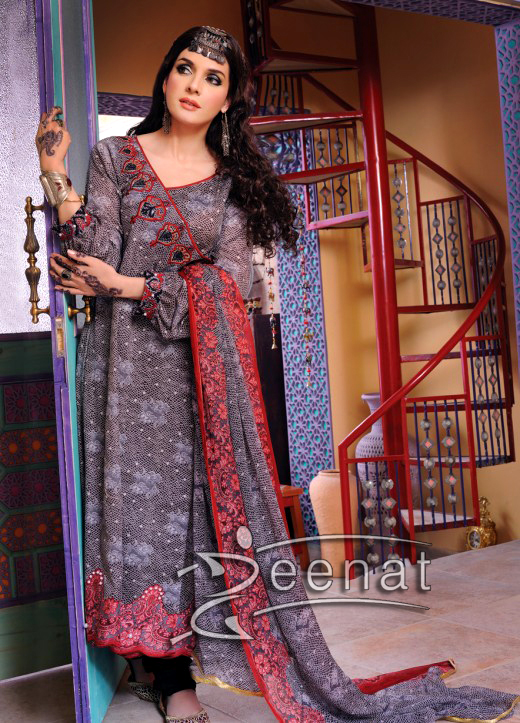 Nishat Lawn Collection on Mahmoor Baloch