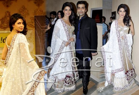 Manish Malhotra Lehenga Choli Design on Priyanka