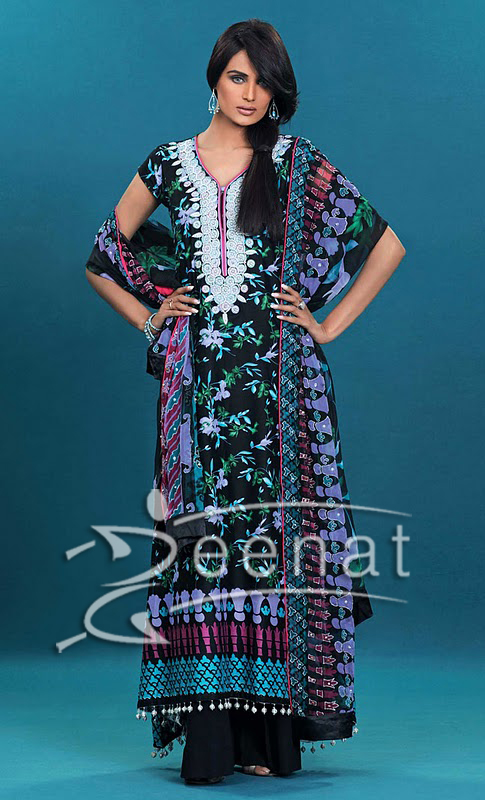 Gul Ahmed Styles 2011 on Mehreen Syed