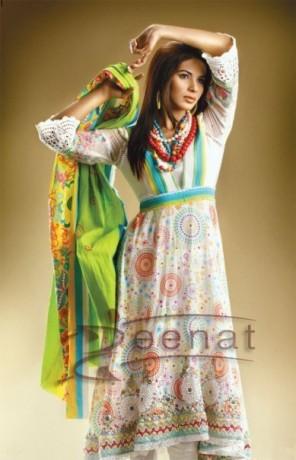 Neha Printed Anarkali Casual Wear