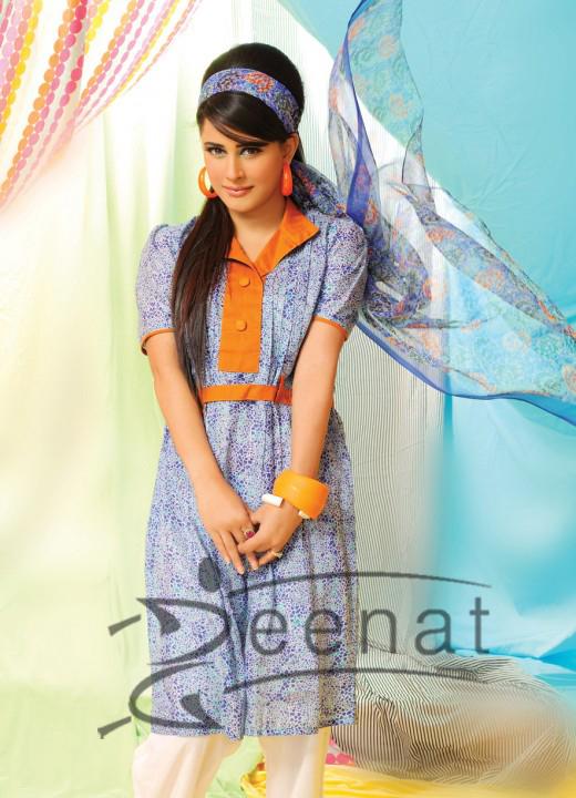 Nishat Lawn Prints 2011 on Mehreen Raheel
