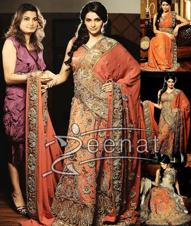 Prachi Indian Designer Saree