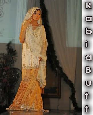 Rabia Butt Bridal Gharara Choli