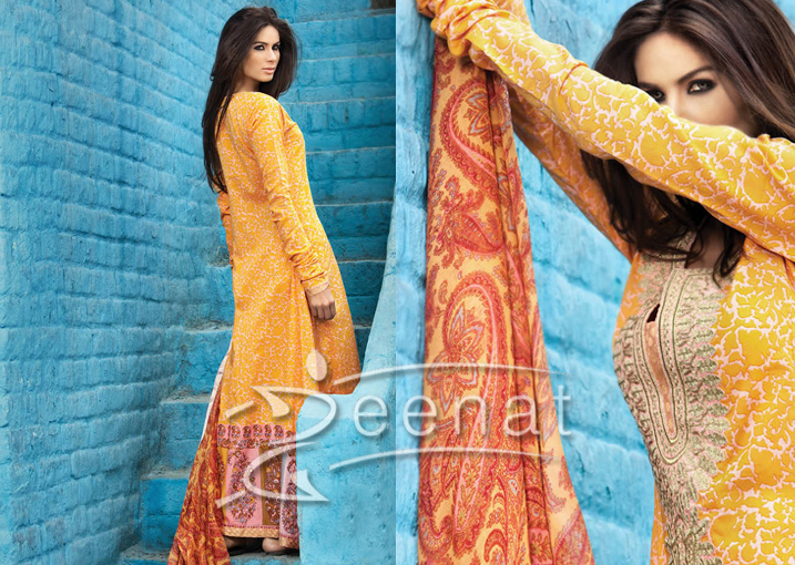 Sana Safinaz Lawn Prints on Neha Ahmed