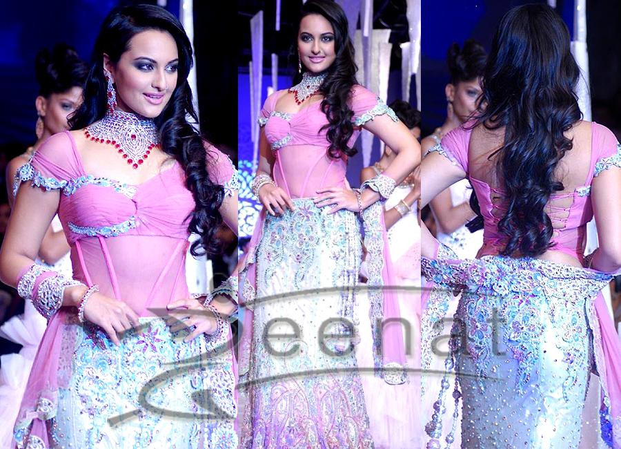 Sonakshi Designer Lehenga Choli Style