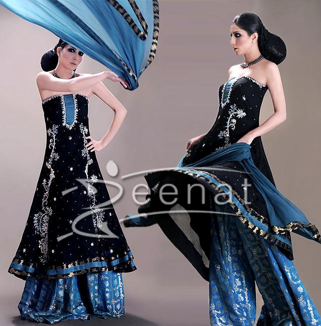 Uzma Khan Pakistani Designer Dress