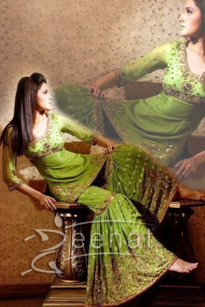 Zara Sheikh Pakistani Gharara Style