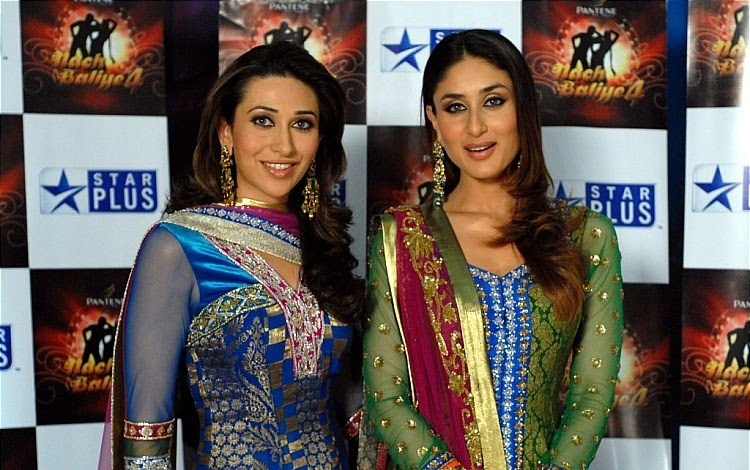 Kareena And Karisma Kapoor In Anarkali Salwar Kameez