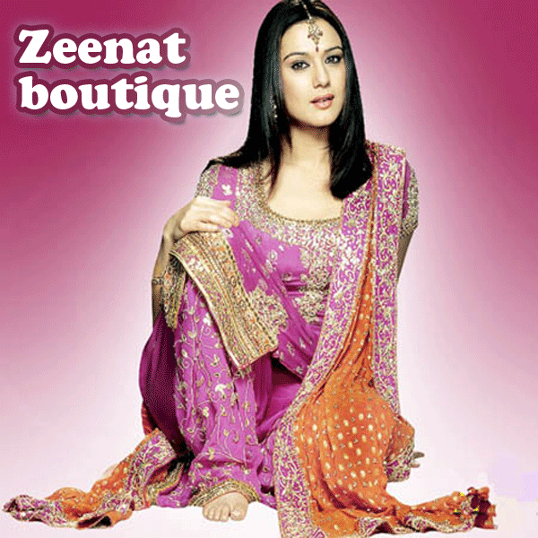 Preity Zinta Embroidered Salwar Kameez
