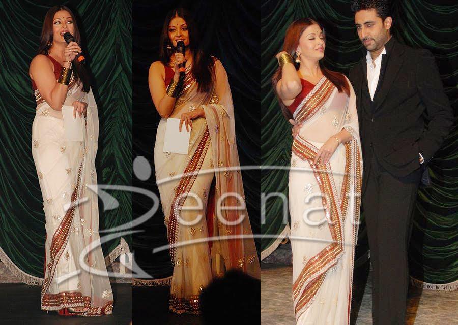 Aishwarya Rai Indian Sarees