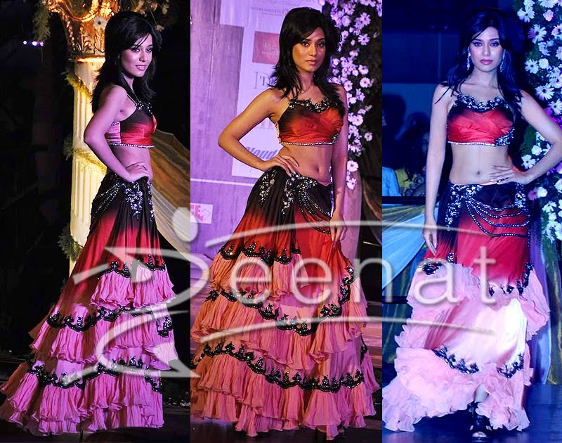 Amrita Rao Designer Lehanga Choli