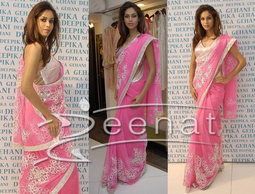 Amruta Patki In Gorgeous Pink Saree