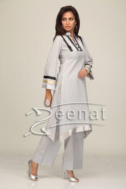 Trendy Trouser And Kameez | Fauzia Amir
