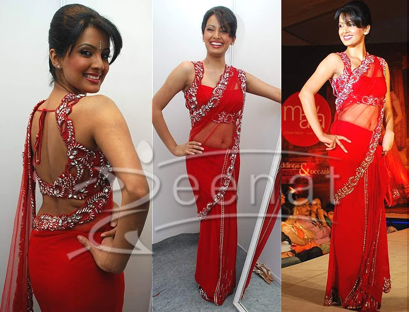 Geeta Basra Indian Designer Saree