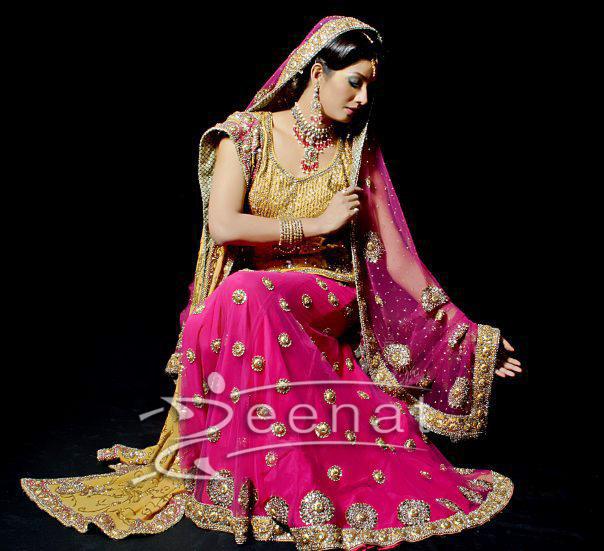 Gia Ali Pakistani Bridal Lehenga Choli