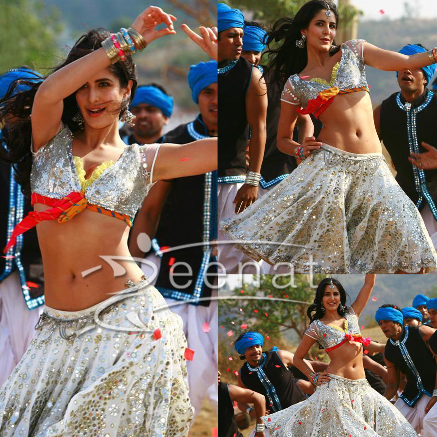 Katrina Kaif Ghagra Choli | Tees Maar Khan Movie Stills