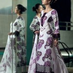 Printed Casual Suit | Mahnoush Summer Collection 2011