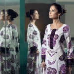 Printed Salwar Kameez | Mahnoush Summer Lawn Collection 2011
