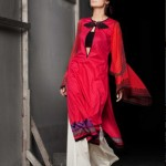 Red Designer Top | Mahnoush Summer Collection 2011