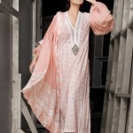 Designer Sleeves Chiffon Top| Mahnoush Summer Collection 2011