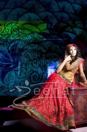 Mahrosh Bridal Lehenga Choli Style
