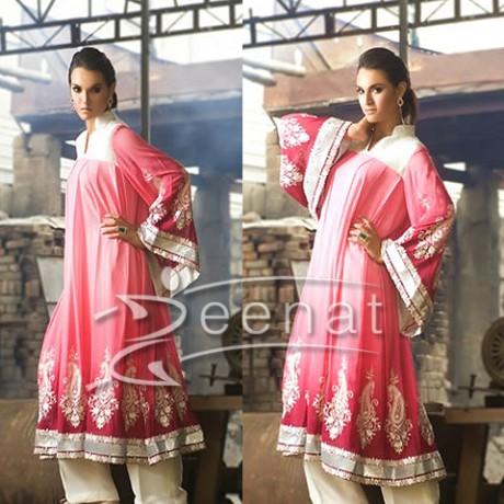 Nadia Hussain A-Line Dress | Threads And Motifs