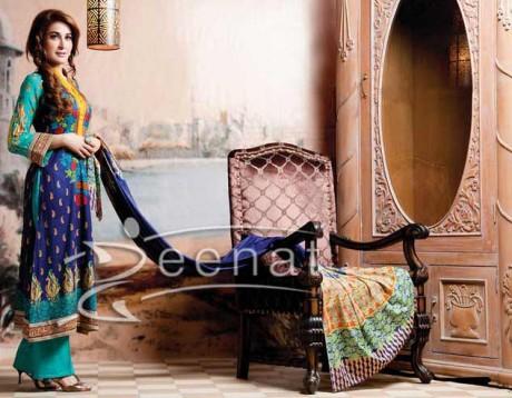 Shaista Wahidi In Firdous Lawn Collection
