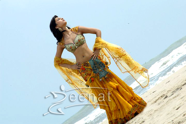 Shruti Hassan Latest Bikini Lehenga Choli Stills