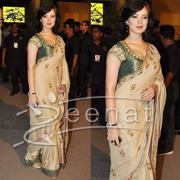 Urvashi Sharma Indian Saree Style