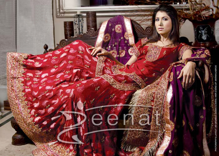 Vaneeza Ahmed Bridal Wear Sharara