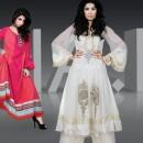 Maria B Semi Formal Collection | Designer A-Line Kameez