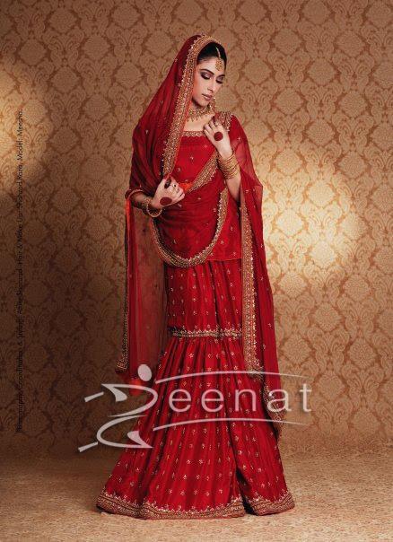 Meesha Shafi Bridal Lehenga Choli