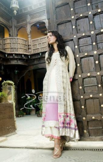 Nadia Hussain In Designer Frock