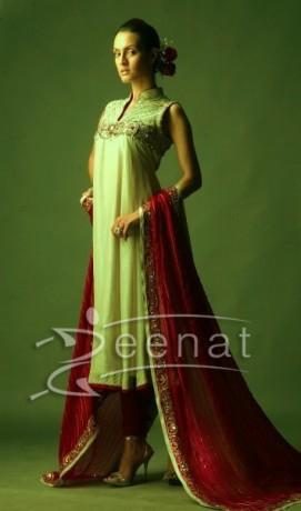 Nadia In Designer Anarkali Suit