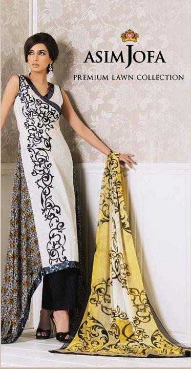 Asim Jofa Lawn Premium Collection 2011 | Iman Ali