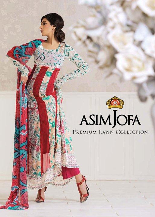 Asim Jofa Lawn Premium Collection 2011   Iman Ali