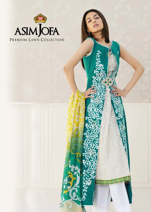Asim Jofa Lawn Premium Collection 2011 | Iman Ali