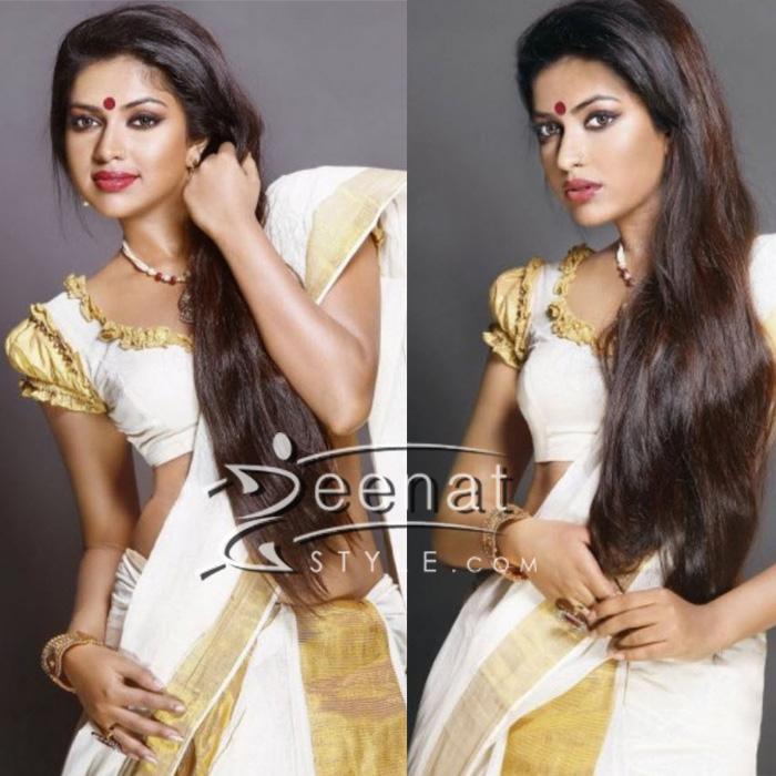 Amala Paul Kerala Saree