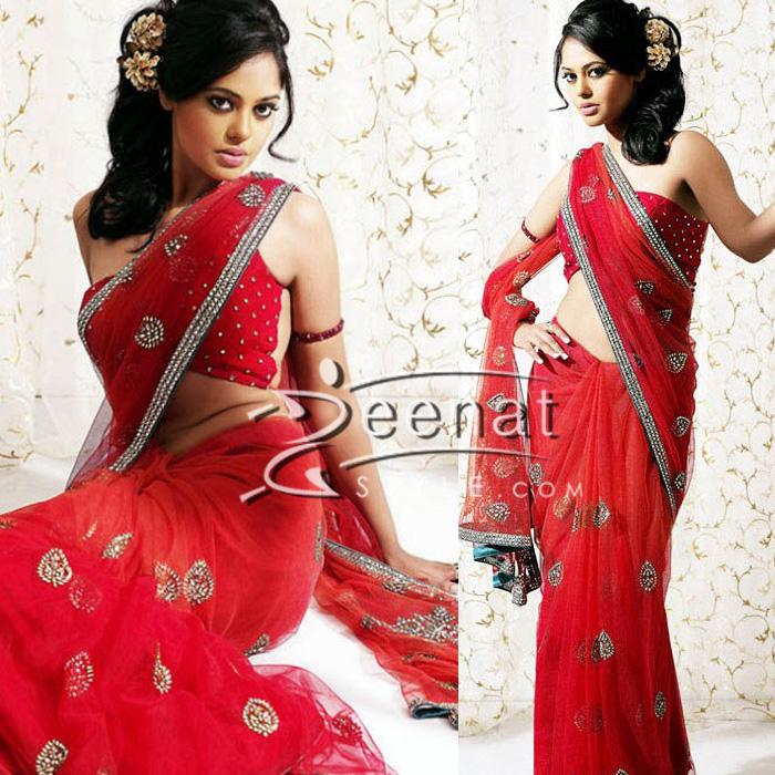 Bindu Madhavi South Indian Actress Saree