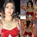 Shreya Saran Red Hot Fashion Beauty