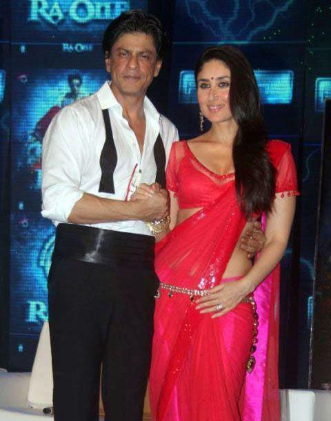 Kareena And Shahrukh At Ra-One Music Launch
