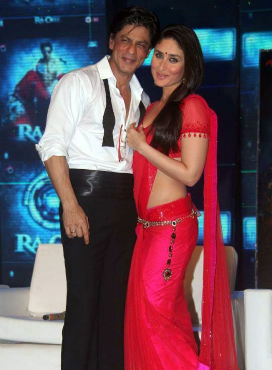 Kareena Kapoor Jewelled Waist Designer Saree