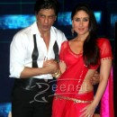 Kareena Kapoor In Red Net Saree
