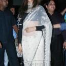 Deepika In White Designer Saree